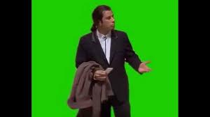 Meme John Travolta - confused john travolta green screen free download youtube