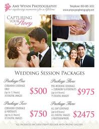 photography wedding packages wedding photography price list session by photographtemplates