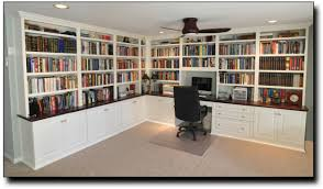 Built In Desk Ideas For Home Office Awesome 60 Home Office Cabinets Design Decorating Inspiration Of