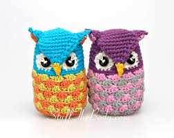 seamless owl amigurumi pattern stuff the