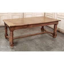 Antique Farm Tables Early 19th Century Country French Walnut Farm Table Inessa