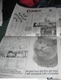 Newspaper Meme Generator - newspaper cat meme 28 images newspaper cat realization meme