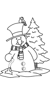 snowman coloring pages coloring pages print