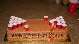 beer pong bachelor cake ideas 19050 cake beer pong cupcake