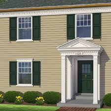 Colonial Windows Designs Photoshop Redo Dressing Up A Flat Facade Colonial Window And