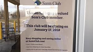 sam s club abruptly closes owings mills location