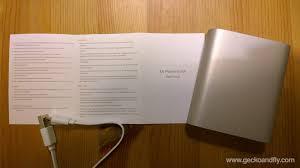 xiaomi 10400 mah portable power bank charger review