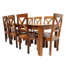 all wood dining room furniture rustic oklahoma solid wood dining table u0026 chair set