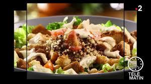telematin recettes cuisine replay télématin télématin gourmand salade césar vegan du 2