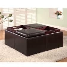 storage ottoman with tray u2014 home design ideas