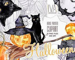 hand painted pumpkin halloween clipart halloween watercolor clipart autumn pumpkin fall holiday