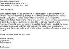 promotion cover letter samples cover letter police promotion aerc co