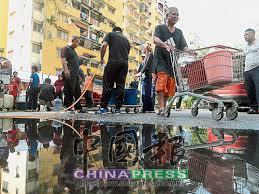 canap駸 cdiscount 大城事頭條 濾水站恢復運作不必再撲水啦 中國報china press