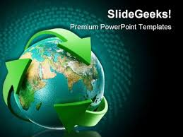 templates powerpoint earth earth powerpoint template globe with green arrows earth powerpoint
