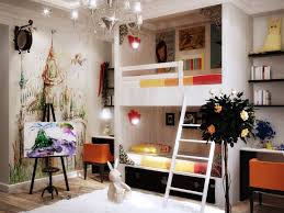 decoration innovative kids room decor stained wooden bunk bed