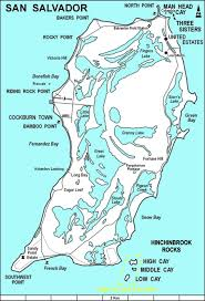 Map Of Treasure Island Florida by San Salvador Island Wikipedia