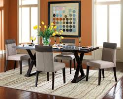 dining room furniture layout modern glass dining table set fair
