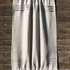 natural beige linen sidelight kitchen cabinet door curtain linen