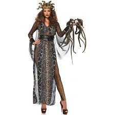 Plus Size Halloween Costumes Medusa Snake Goddess Womens Halloween Costume