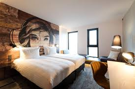 mural on wood make an artistic headboard for your bedroom by painting a mural on