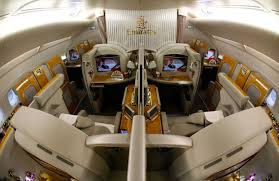 Emirates Airbus A380 Interior Business Class Etihad Emirates Usher In Jet Age Luxury Afr Com