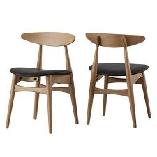Dining Chairs Wood Modern Wood Dining Chairs Allmodern