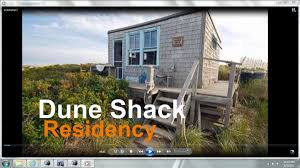 living in a dune shack