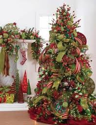 christmas tree ribbon how to decorate a christmas tree like a professional