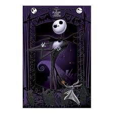 nightmare before it s multicoloured maxi poster