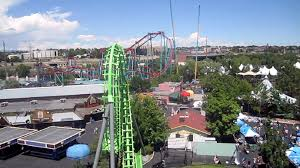 Six Flags In Denver Sidewinder Front Seat On Ride Hd Pov Elitch Gardens Youtube