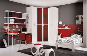 bedroom red and white bedroom furniture astonishing on throughout
