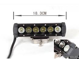 Led Light Bar Truck New 7inch 30w Spot Beam Cree Led Light Bar Offroad Light Bar