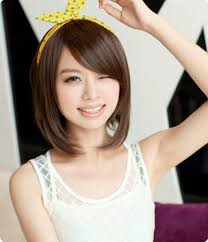 medium hair for round faces asian korean short hairstyle round