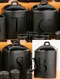 black ceramic kitchen canisters best 25 tea coffee sugar jars ideas on tea and coffee