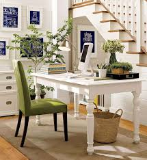decorations chic home office space decor with corner white