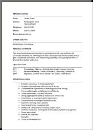 New Job Resume Format by Resume Template Nz Free Excel Templates