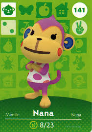 homedesigner nintendo animal crossing happy home designer amiibo card nana 141