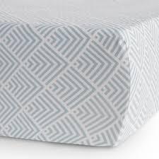 oilo kai aqua crib sheet u2013 curated nest nurseries u0026 design