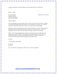 Letter Of Intent Example Business by Cover Letter Format Preview Of A Cover Letter Template 3page