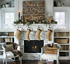 decoration decoration christmas decorations for fireplace mantel