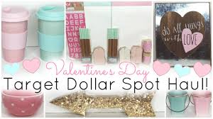 Valentine S Day Home Decor Target by Target Dollar Spot Haul Valentine U0027s Day 2016 Youtube