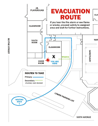 Fire Evacuation Route Plan by Gis Fire Escape Plans Scary To Consider But Essential