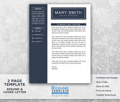 1 Page Resume Templates One Page Resume Template Word One Page Resume Templates A One