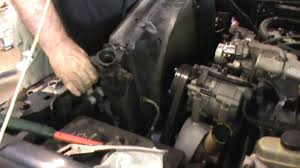 radiator replacement ford ranger 4 0 liter v 6 engine youtube