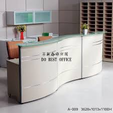 office reception desk for sale sale white reception desk wood panel office furniture buy used