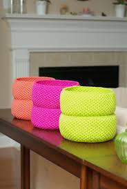 crochet home decor crochet baskets picmia