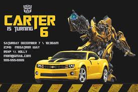 transformer birthday transformer birthday invitations wblqual