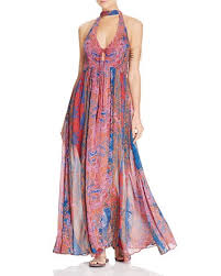 Free People Unattainable Printed Maxi Dress Bloomingdale U0027s