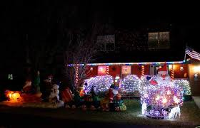 christmas on display gypsum residents light up the town with