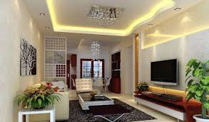 Wall Tv Design by Pale Green Tv Wall Design For Small Living Room Interior Design
